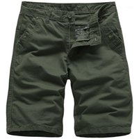 Pantalones pantalones largos pantalones ocasionales de mosca de la cremallera corta de la manera del color natural para hombre Ropa para hombre del diseñador de rodilla