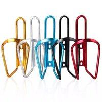 Aluminiumlegierung-Fahrrad-Fahrrad-Getränk-Wasserflasche Zahnstangen-Halter-Einfassung für Berg Faltrad Cage 5 Farben