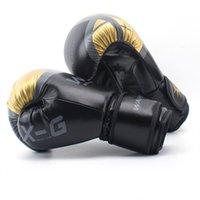 Yetişkin Kadınlar / Erkekler Çocuklar Mücadele Boks Eldivenleri 5 Boyutu Mitts Sanda Karate Kum torbası Deri MMA Muay Thai Boxe de Luva Eldivenler Sanda Ekipmanları