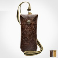 cubojue Genuine Leather Spectacle Case (53g) men women brand...
