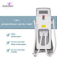 beauté machine laser de haute puissance laser picoseconde de détatouage au laser pour détatouage thérapie pigmentation elight