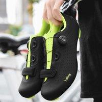أحذية ركوب الدراجات على الطرق ذاتية الغلق للدراجات الطريق دراجة دراجة خفيفة رياضي سباق احذية Zapatos Ciclismo الدراجة
