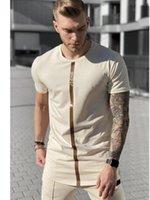 여름 SikSilk 남성 T 셔츠 실크 실크 t- 셔츠 O-목 짧은 조깅 남성 셔츠 T 셔츠 시크 셔츠 남성 티셔츠는 티셔츠 탑