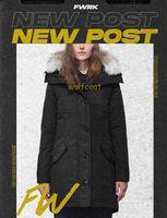 Top Quality Good Parkas Inverno Femmina Down Coat Donne Abbigliamento Colore Colore Giacca Giacca Parka Zipper Modo