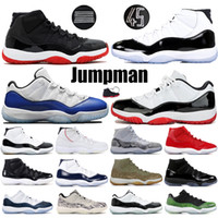 Space Jam Mens 11s XI Scarpe da pallacanestro High Low Bred Concord 45 Cappellino e abito Win Like 96 Uomo Donna Sneakers Scarpe di design