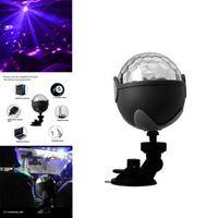 Luz de Palco Bluetooth Car DJ Luzes do disco USB Mini Light Party Stage Laser bolso cristal Magic Ball Projector Effect Lighting