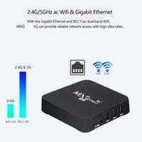 MXQ برو أندرويد التلفزيون مربع amlogic s905 واط الروبوت 9.0 صندوق التلفزيون 2 جرام 16 جرام daul wifi wifi 4k مجموعة أعلى مربع