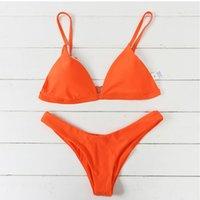 Горячие продажи Bikinis Женщина Push-Up Bra проложенного пляж бикини Set купальник Женщина бикини 2018 Biquini Женщина купальник