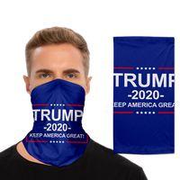 Máscara Trump Bufanda de ciclo unisex del pañuelo de la motocicleta bufanda mágica careta de protección Pañuelo de cuello deportes al aire libre facial cubierta LJJP327