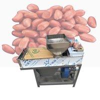 200 kg de alta eficiencia tipo de acero inoxidable completa seco de maní capa roja máquina / asado cacahuete kernel piel removedor pelador peeling
