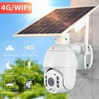 4G 1080P Облако HD Открытый наблюдение Водонепроницаемая камера Аудио голосовая сигнализация Безопасность IP-камера Низкая мощность Солнечная камера