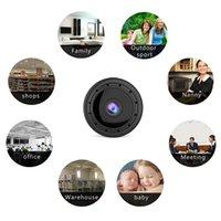 홈 보안 미니 WIFI 1080P IP 카메라 무선 작은 CCTV 적외선 야간 투시경 모션 탐지 SD 카드 슬롯 오디오 앱