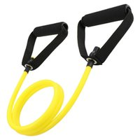 Popular Yoga Pull Rope Elastic Resistance Bands Fitness Rope Rubber Bands For Fitness Equipment Expander Exercise Tube Training