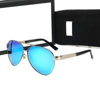 Gafas de sol de moda para hombres Mujeres Playa Polarizos al aire libre Polarized UV400 Gafas vienen en 11 opciones de color y cajas
