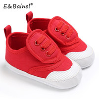 EBainel bambino appena nato dei pattini delle ragazze del ragazzo Primi camminatori infantili della tela morbida suola antiscivolo scarpe sportive scarpe da ginnastica per bambino