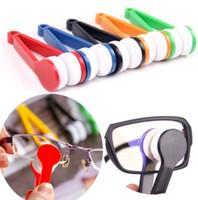 منظف البسيطة نظارات نظارات شمسية ستوكات فرشاة نظارات شمسية زجاج تنظيف النظارات أداة فرشاة تنظيف EEA1903-1