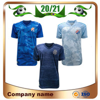 20/21 GNK Dinamo Zagreb Soccer Jerseys 2020 Accueil Blue Orsis Peric Peric Olmo Ademi Gojak Chemise de football à manches courtes