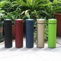 Hot 500ml caneca de viagem de aço inoxidável chá infusor garrafa de água isolado de água com logotipo de vida frete grátis