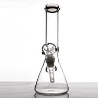 11'' inches clean beaker bottom bongs simple design glass pipe heady water pipes 10.5 for glass beaker bong mini bong