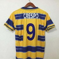 1998 1999 2000 Parma soccer jersey 98 99 Parma home BUFFON Crespo Thuram Baggio retro jersey VERON Cannavaro classic vintage football shirt