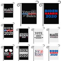 Biden Harris 2020 Garden Flagge US-General Election Garten Flag Supplies Biden für Präsidenten-30 * 45cm Kampagne Flag Yard Sign