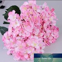 One Piece (7 caules / grupo) Estilo Europeu 51CM longo de seda artificial da flor do Hydrangea Falso Flor Bush para o casamento Bouquet decoração Home