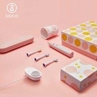 SOOCAS X5 Spazzolino elettrico a ultrasuoni Spazzolino per Xiaomi Mijia Upgraded adulti ricaricabili 12 Clean Modalità teste con la spazzola