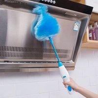 Регулируемое электрическое перо Дастер электрический пыль пылью щеткой пылесос жалюзи мебель окно книжные полки чистящий инструмент для чистки