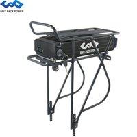 Long Range 36V 20Ah 17.5Ah 15Ah arrière rack eBike batterie avec couches bagages pour Bafang BBS02 BBS01 TSDZ2 500W 350W 250W moteur