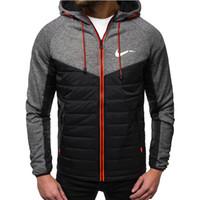 2020 Nouvelle automne Hommes Vestes Mode Sweat à capuche Sweet Sweet Casual Coffret Zip Cardigan Plus Fleece S-2XL