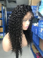 Brazilian human hair wig deep wave full lace wig wholesale p...