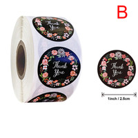 500pcs roll Thank You Stickers Seal Labels Scrapbook Handmad...