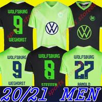 (20) (21) 볼프스부르크 축구 유니폼 2020 2021 홈 GINCZEK GUILAVOGUI 축구 셔츠 멀리 메흐 메디 KALUS MALLI 스테 WEGHORST 축구 유니폼