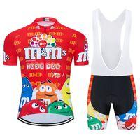 2020 프로 만화 팀 재미 사이클링 저지 짧은 9D는 MTB 자전거 의류 로파 Ciclismo 자전거 착용 의류 남성 타이츠 Culotte 설정