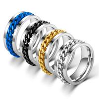 Venda quente Venda de garrafa de garrafa anel de aço inoxidável anel de aço inoxidável anel de garrafa de aço de titânio