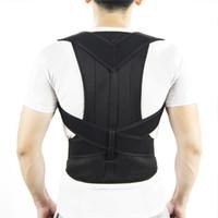 Ajustável ombro para trás Postura Corrector apoio lombar Suporte Brace Corset Voltar Belt para as Mulheres Homens
