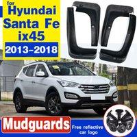 Para Hyundai Santa Fe ix45 2013 ~ 2018 DM Fender-lamas Mud Flaps proteção contra respingos Flap-lamas Acessórios 2014 2015 2016 2017