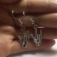 Te amo muestra Idioma - Love ASL - pendiente del encanto hecho a mano Parejas regalo