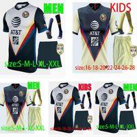 Men Kids + Socks Liga MX Club America Soccer Jersey 20 21 CA Униформа Перальта P.Guill Dominguez S.Romero Sambueza Джетки футболки