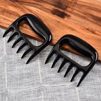 곰 발톱 고기 분쇄기 눈물 도구 베어 곰 곰 고기 음식 포크 포인트 찢어짐 고기 바베큐 도구 주방 VT0262
