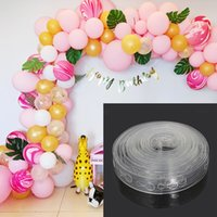 5M Transparent Rubber Balloons Chain Birthday Party Decorati...