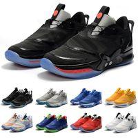 새로운 도착 조정 BB 2.0 Mens 농구 신발 넥타이 염료 오레오 블랙 레드 망 트레이너 스포츠 스 니 커 즈 크기 7-12