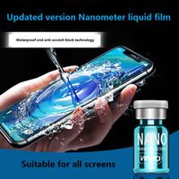 2020 새로운 액체 나노 기술 화면 보호기 3D 곡선 가장자리 안티 스크래치 강화 유리 필름 아이폰 삼성