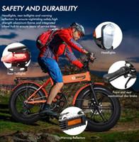 الولايات المتحدة STOCK ENGWE 500W 20 بوصة دراجات دراجات كهربائية جبل شاطئ سنو للبالغين، والألمنيوم سكوتر الكهربائية 7 سرعة جير E-الدراجة W41215023