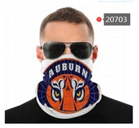 NCAA Auburn Tigers Collo senza soluzione di continuità Ghetta Ghetta Scudo Sciarpa Bandana Maschere per il viso per motociclisti in bicicletta