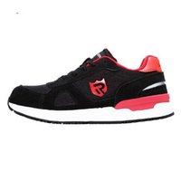 أحذية عالية الجودة للرجال أحذية الركض، الصلب توصلت أحذية رياضية البناء، تنفس، خفيفة الوزن، صدمات، مكافحة ساكنة، غير زلة