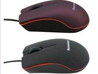 Lenovo M20 USB Optical Mouse Mini 3D проводной игровой производитель MICE с розничной коробкой для ноутбука компьютера ноутбук
