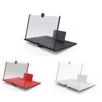 10 pouces 3D vidéo HD Smartphone téléphone portable écran tactile Magnifier Amplificateur Agrandir 4 fois avec support