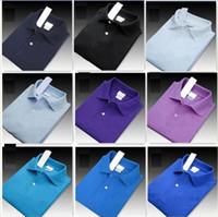 2020 stili di lusso molla T-shirt di marca Polo High Street ricamo coccodrillo stampa Abbigliamento Uomo Marca Polo Tee Uomo