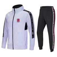 Lüksemburg Futbol Kulübü Futbol spor eşofman golf takım açık eğitim setleri sağlık bez yuvarlak boyun rahat giyim